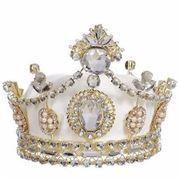 Mark Roberts - Queens Crown Ivory 17cm