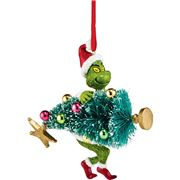 Jim Shore - Grinch Stealing Tree Ornament