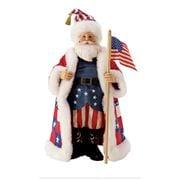 Jim Shore - Possible Dreams Jim Shore Stars & Stripes Santa