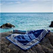 Abyss & Habidecor - Cannes Beach Cadet Blue Towel 90x200cm