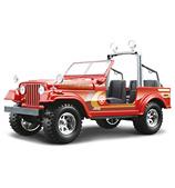 Bburago - Jeep Wrangler