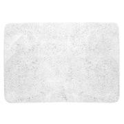 Peerless - Micro Plush Bath Rug White
