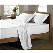 Sheridan - Luxury Sateen Snow Queen Size Sheet Set
