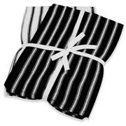 Wam - Deluxe Jumbo Tea Towel Black Set 2pce