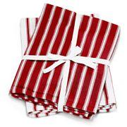 Wam - Deluxe Jumbo Tea Towel Red Set 2pce