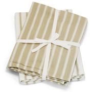 Wam - Deluxe Jumbo Tea Towel Latte Set 2pce