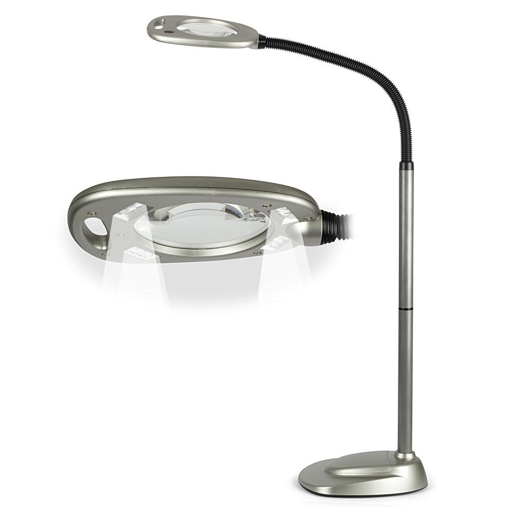 multiflex led floor magnifying lamp peter 39 s of kensington. Black Bedroom Furniture Sets. Home Design Ideas