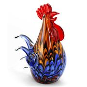 Zibo - Coloured Chook Ornament