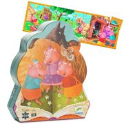 Djeco - The Three Little Pigs Jigsaw Puzzle