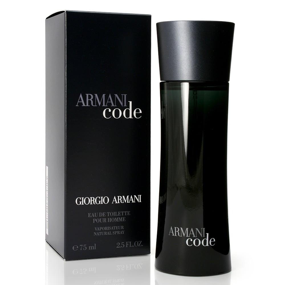 giorgio armani armani code eau de toilette pour homme 75ml s of kensington