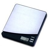 Tanita - Digital Kitchen Scale Silver and Black KD-811