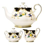 Royal Albert - 100 Years 1910s Duchess Teapot Set 3pce