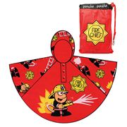 Bugzz - Fire Chief Rain Poncho