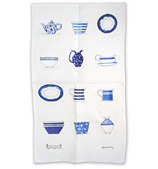 Rodriquez - Jam Tales Blue Crockery Tea Towel
