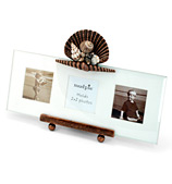 Mud Pie - Sanibel Metal Shell Triple Frame