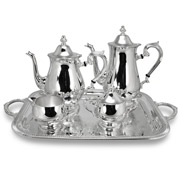 Whitehill - Silver Plated Tea Set 5pce