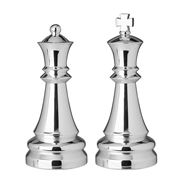 Whitehill - King & Queen Silver Plated Salt and Pepper Set
