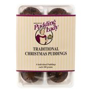 Newcastle Pudding Lady - Traditional Christmas Puddings 6pce