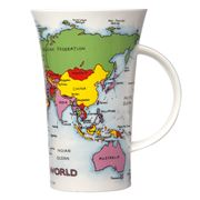 Dunoon - Map Of The World Glencoe Mug