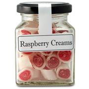 The Lolly Shop - Raspberry Creams 100g