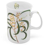 Ashdene - Floral Emblems Wattle Mug