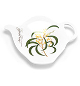Ashdene - Floral Emblems Wattle Teabag Holder