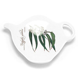 Ashdene - Floral Emblems Blue Gum Teabag Holder