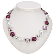 Antica Murrina - Frida Amethyst Murano Necklace