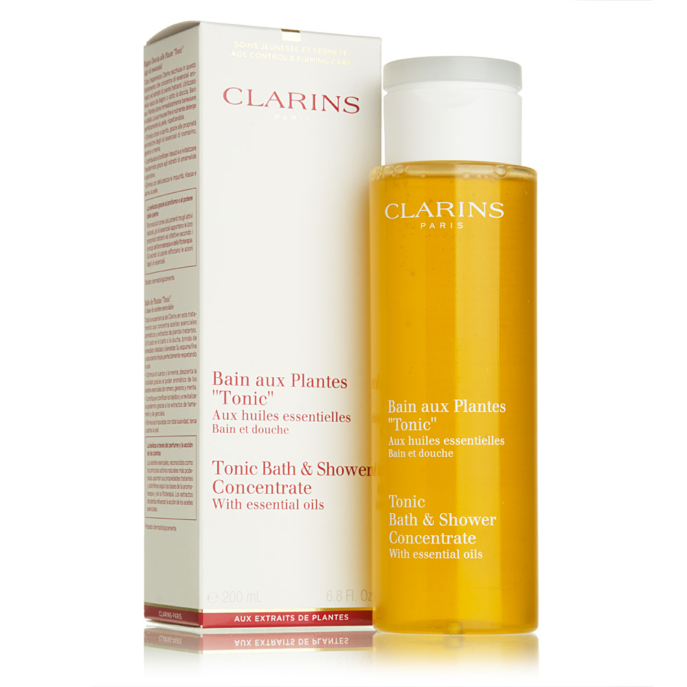 Clarins Tonic Bath Amp Shower Concentrate 200ml Peter S