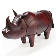 Omersa - Medium Rhinoceros Leather Footstool