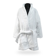 Frenkel - Kids' Velour Terry Bathrobe Size 6