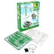 Kidz Labs - 6-In-1 Do It Yourself Educational Solar Kit