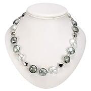 Antica Murrina - Frida Silver Grey Murano Necklace