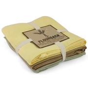NowDesigns - FlourSack Citrine Tea Towel Set 3pce