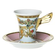 Rosenthal - Le Jardin de Versace Espresso Cup & Saucer Set