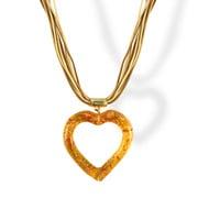 Antica Murrina - Eros Murano Glass Necklace Amber