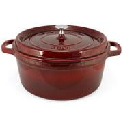Staub - Cocotte Round Grenadine Red 28cm/6.7L