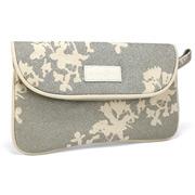 Apple & Bee - Japan Silver Envelope Make-Up Bag