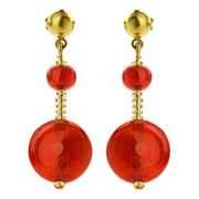 Antica Murrina - Frida Gold Murano Earrings