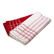 Ladelle - Professional Series Chef Towel Red Set of 2