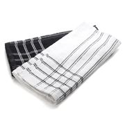 Ladelle - Professional Series Chef Towel Black Set of 2