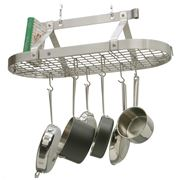 Enclume - Premier Stainless Steel Oval Pot Rack w/ Grid