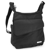 Travelon - Carry Safe Anti-Theft Messenger Bag Black