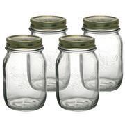 Bormioli Rocco - Quattro Stagioni Preserving Jar 500ml Set