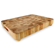 Catskill - End Grain Chopping Board with Feet 43x33cm