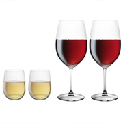Riedel - Vinum XL Cabernet & 'O' Chardonnay Pay 2 Get 4 Pack