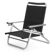 Ocho - Reclining Event & Beach Chair Black