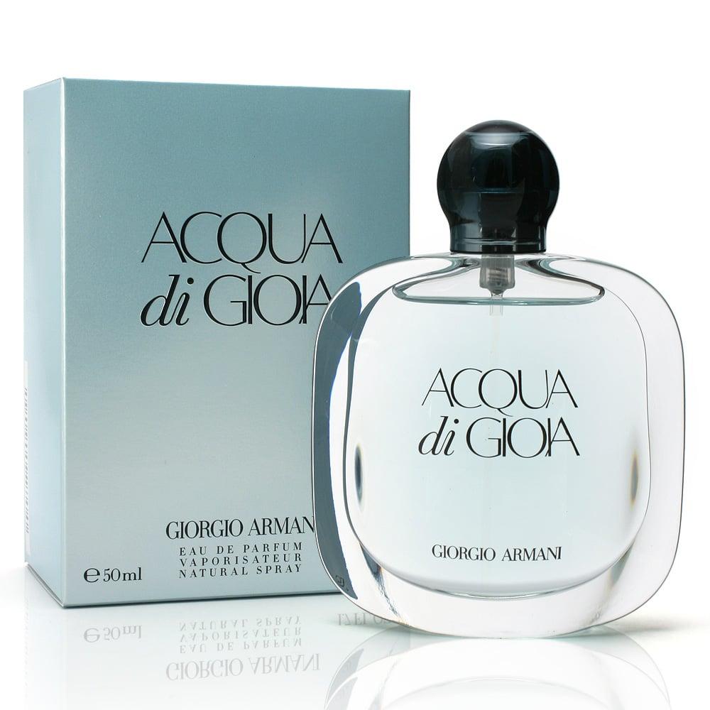 Giorgio Armani Acqua Di Gioia Eau De Parfum 50ml Peters Of