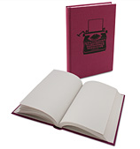 Ask Alice - Red Typewriter Notebook