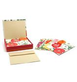 Galison - Notecards Seasons in Bloom Set 16pce